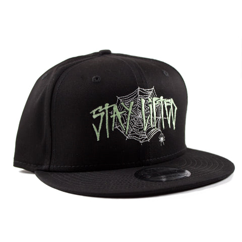 """Lifted Spider"" Glow in the Dark Snapback"