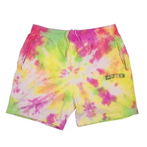 Lifted French Terry Shorts (Tie-Dye)