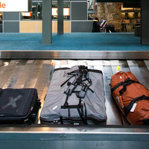 Oru Kayak backpack airport checked luggage