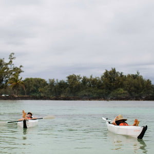 people relaxing in Oru Kayak Beach LT