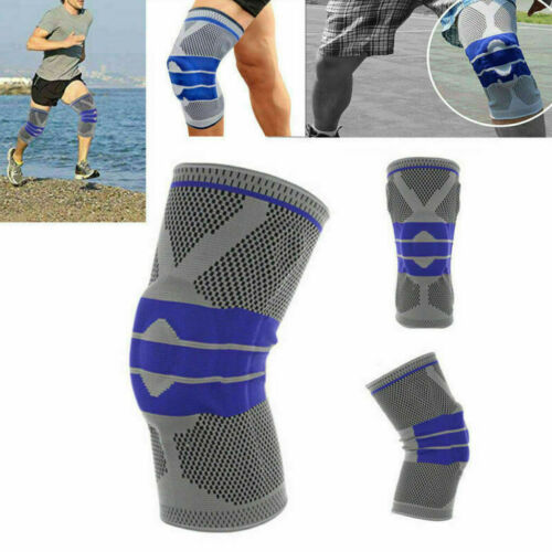Silicone Spring Knee Protection Sleeve