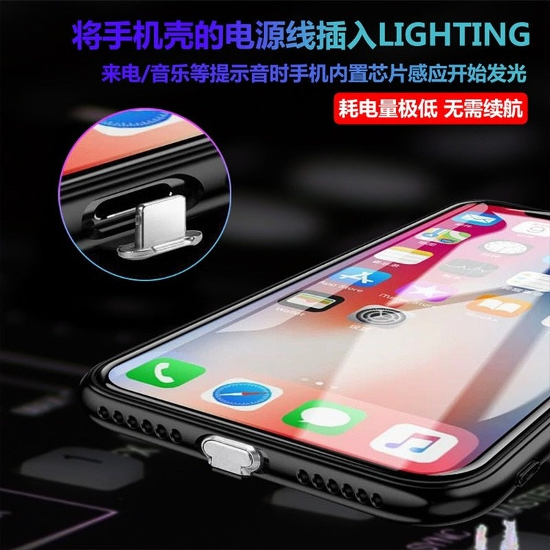 Sound-Smart LED Glowing iPhone Case