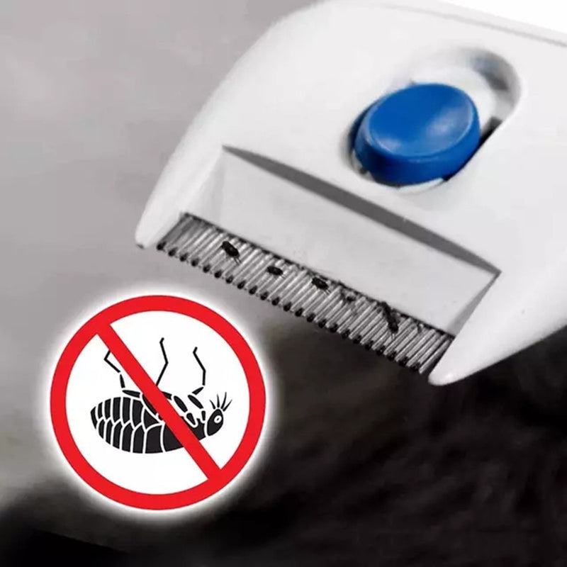 PetFleaPro™ Electric Lice Cleaner Comb