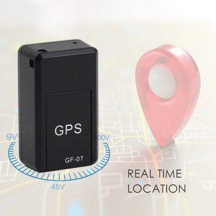 Magnetic Mini GPS Locator with Voice & Real Time Tracking