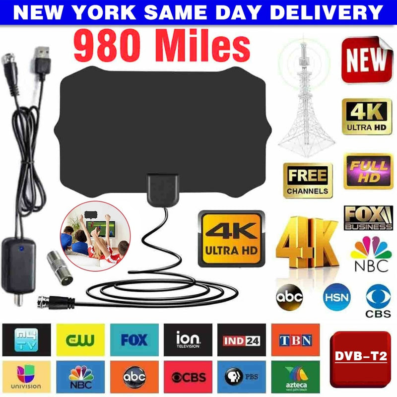 New 980 Mile Digital Indoor Antenna