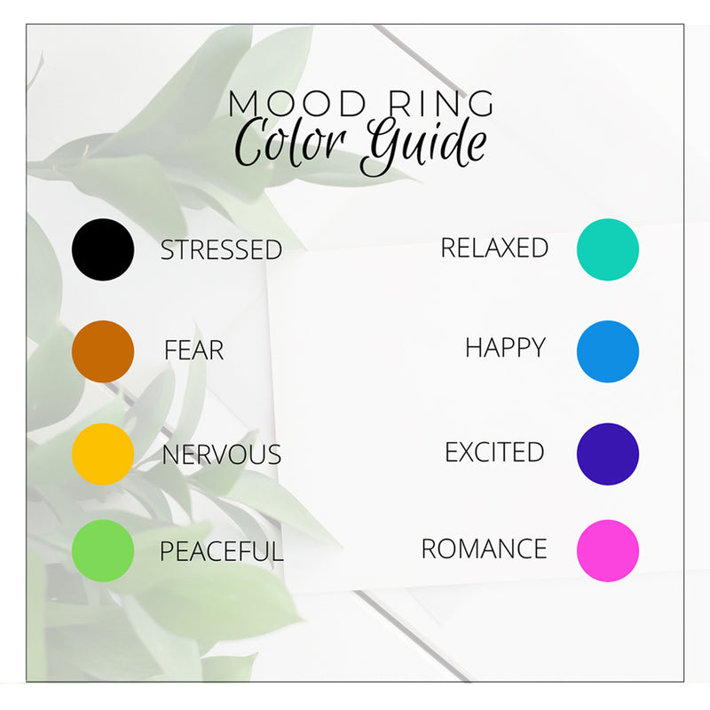 thermo sense mood ring color guide