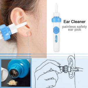 Painless Electric Vacuum Ear Cleaner