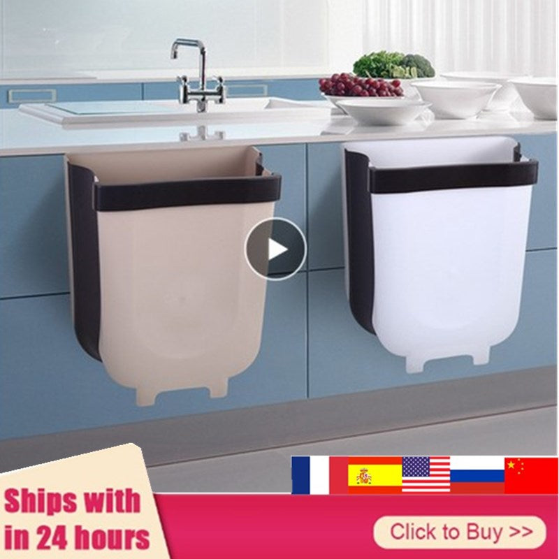 WonderKitchen™ Collapsible Hanging Waste Bins