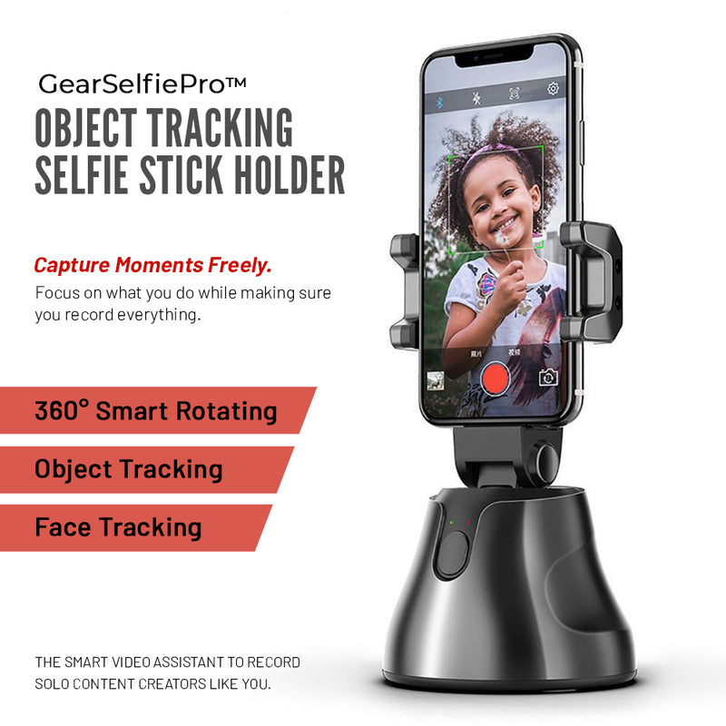GearSelfiePro™ - Object Tracking Selfie Stick Holder