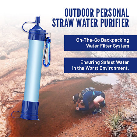 Outdoor Personal Water Purifier Straw