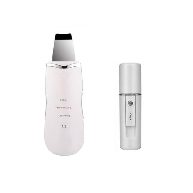 Ultrasonic Skin Scrubber Skin Beauty Device