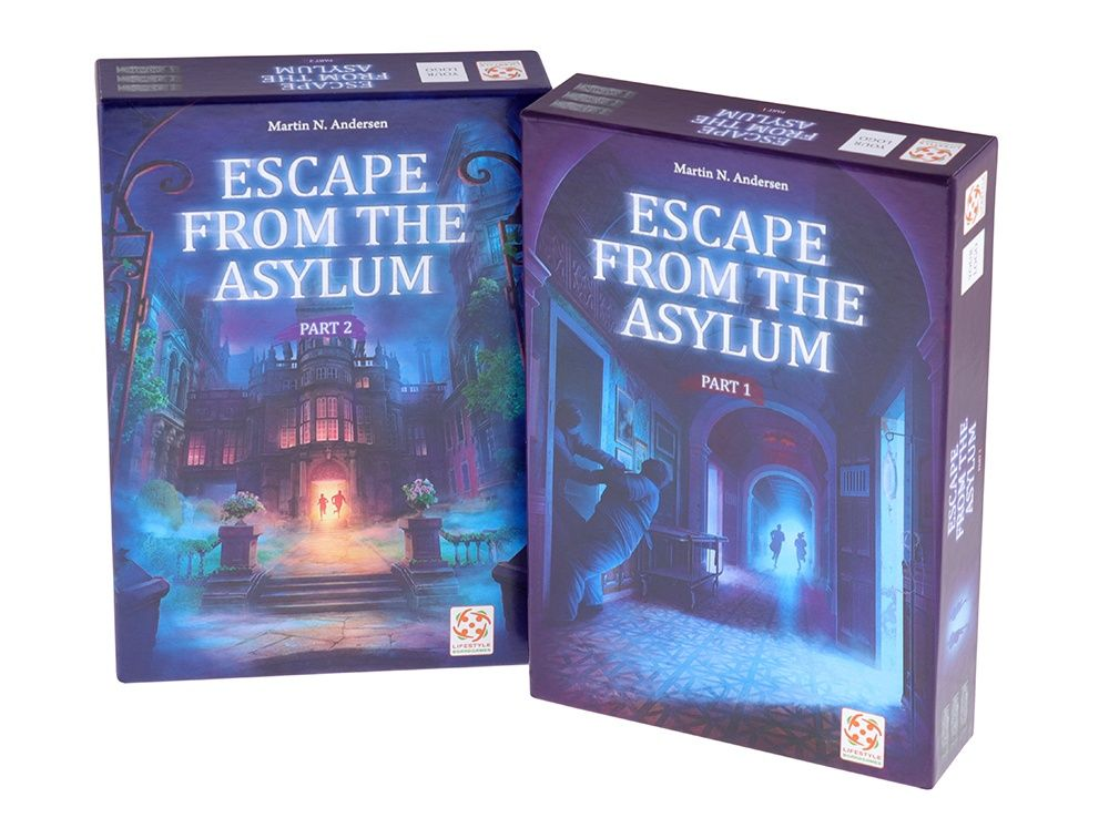 Escape from the Asylum 1-6 Player Cooperative Game (Preorder)