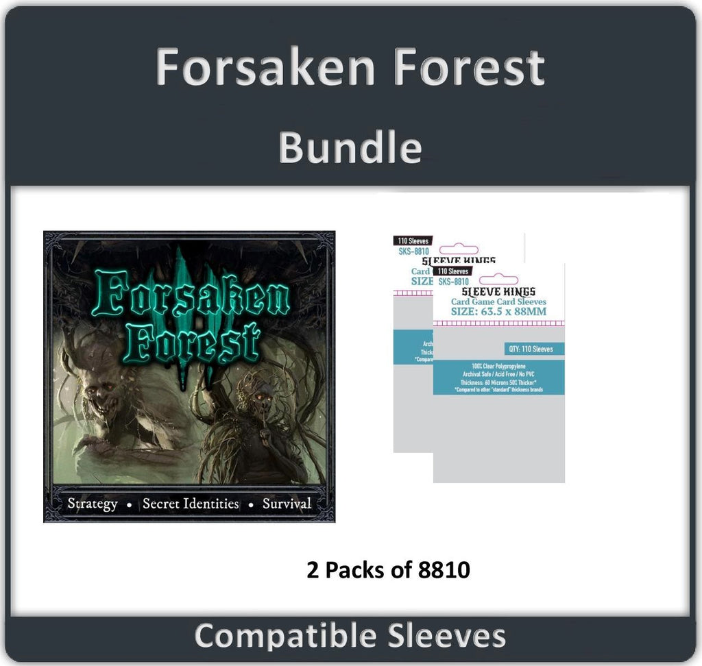 """Forsaken Forest"" Compatible Sleeve Bundle (8810 X 2)"
