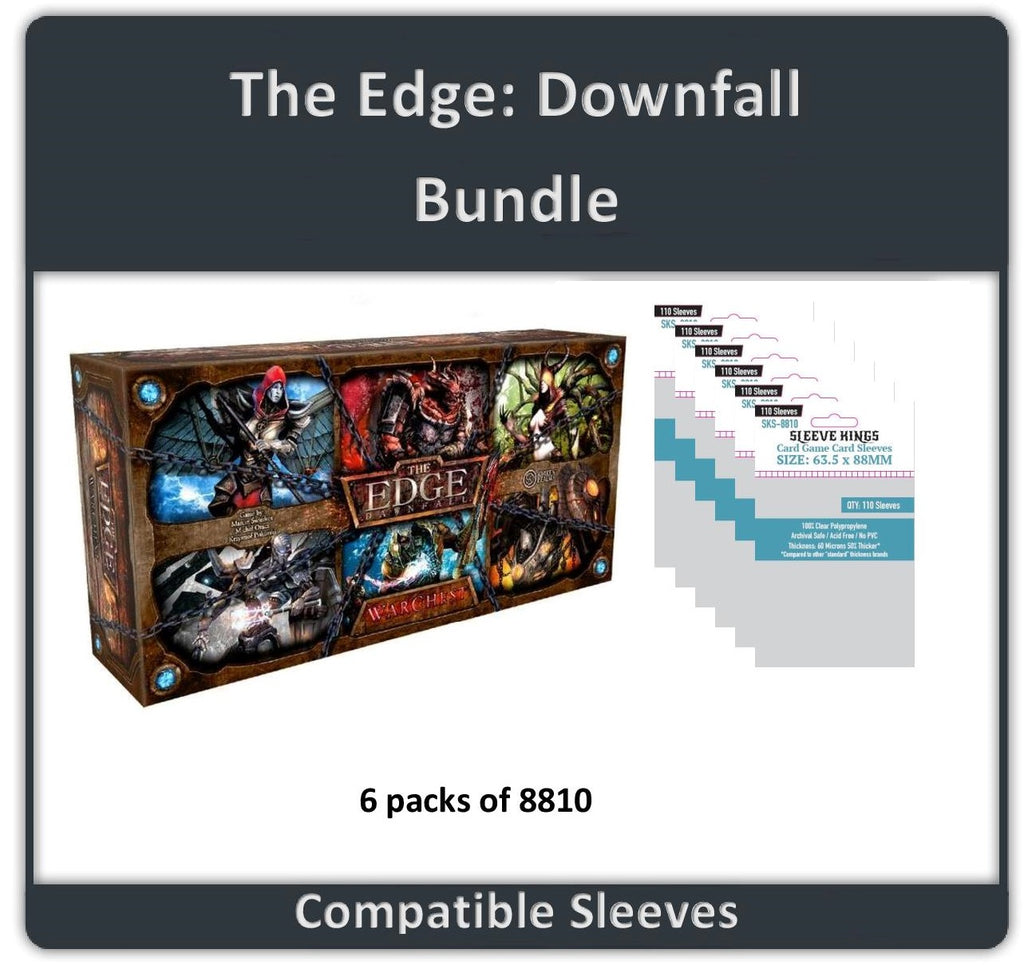 """The Edge Downfall"" Compatible Sleeve Bundle (8810 X  6)"
