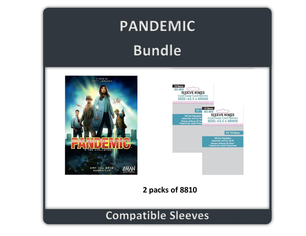 """Pandemic"" Compatible Sleeve Bundle (8810 X 2)"