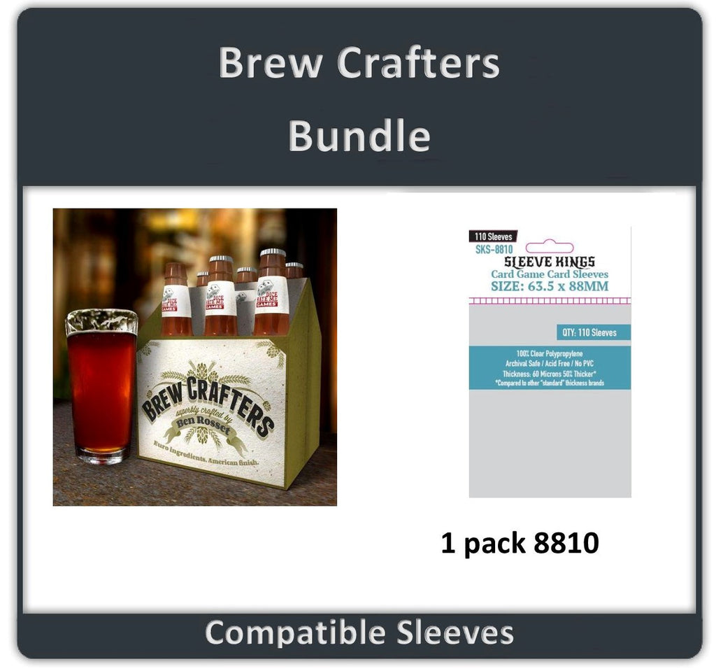 """Brew Crafters"" Compatible Sleeve Bundle (8810 X 1)"