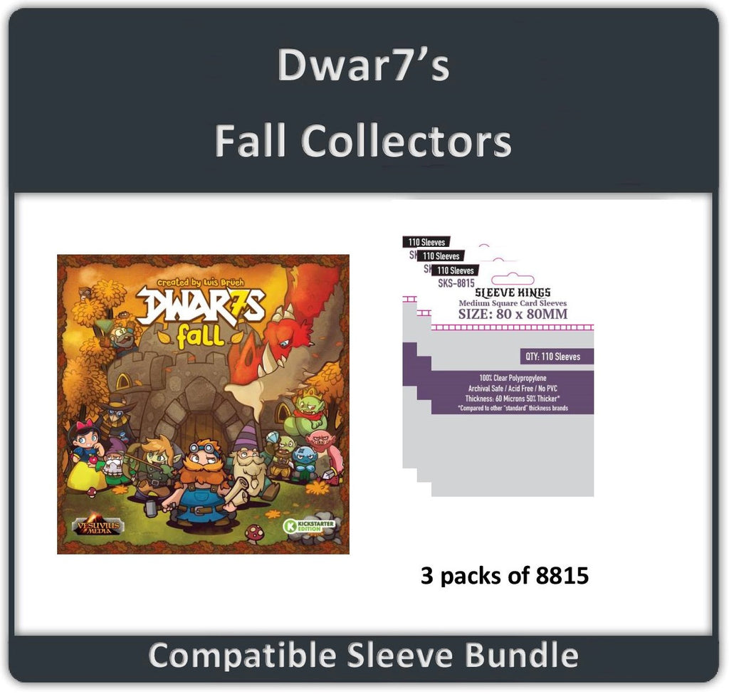 """Dwar7s Fall Collectors"" Compatible Sleeve Bundle All In Compatible Sleeve Bundle (8815 X 3)"
