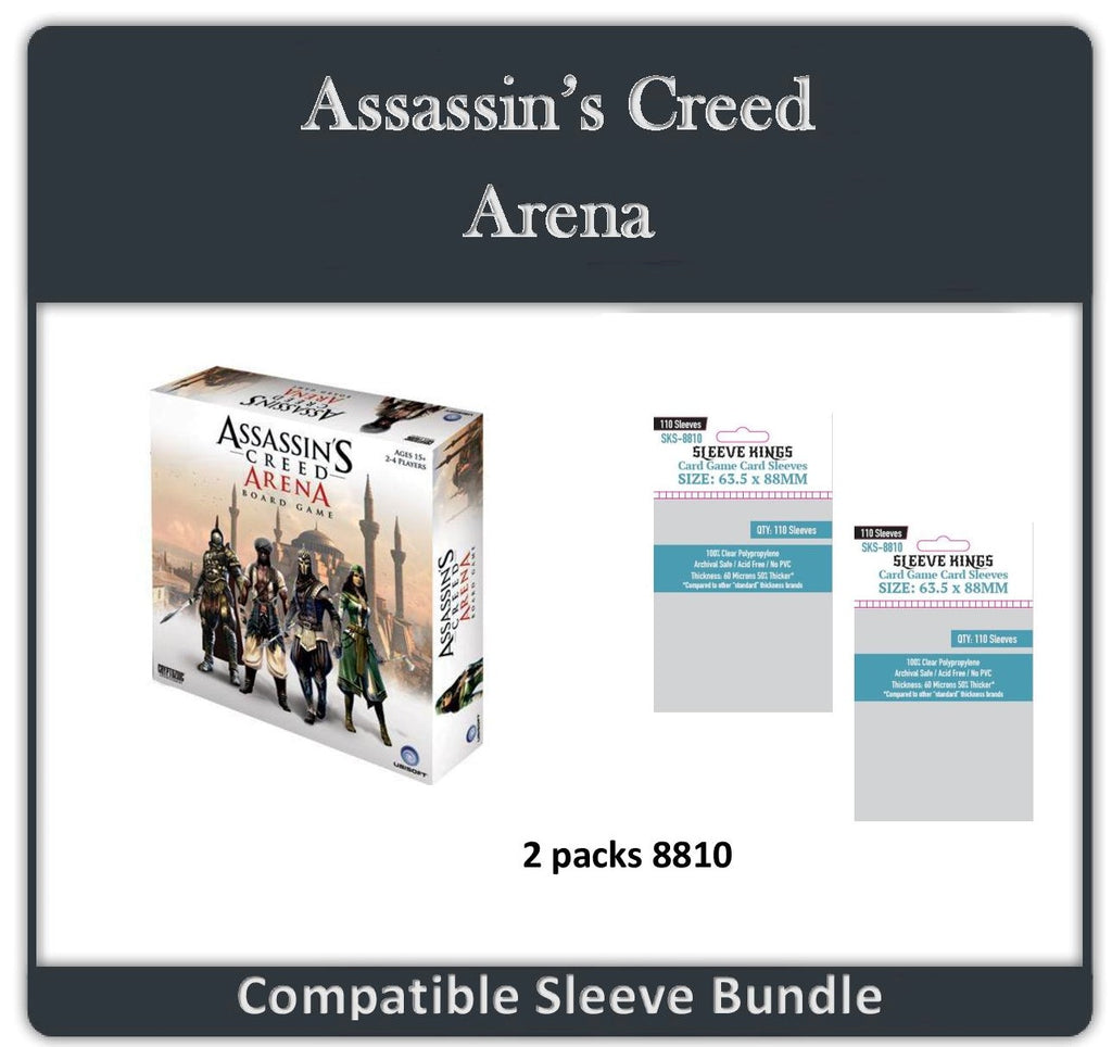 """Assassin Creed: Arena"" Compatible Sleeve Bundle (8810 X 2)"