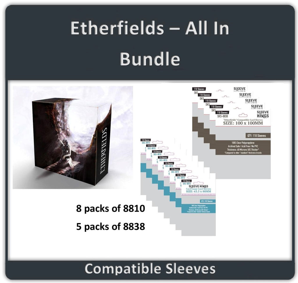 """Etherfields All-in"" Compatible Sleeve Bundle (8810 X 8 + 8838 X 5)"