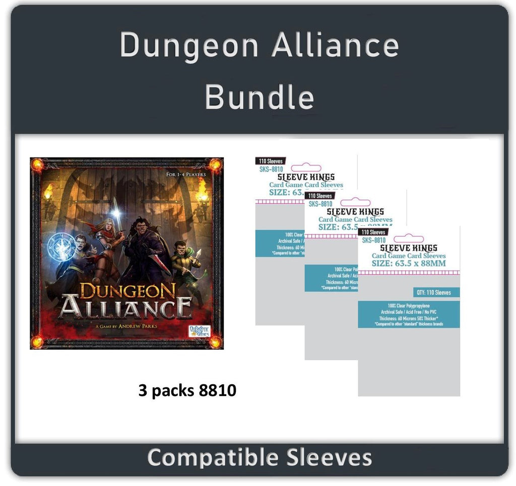 """Dungeon Alliance"" Compatible Sleeve Bundle (8810 X 3)"