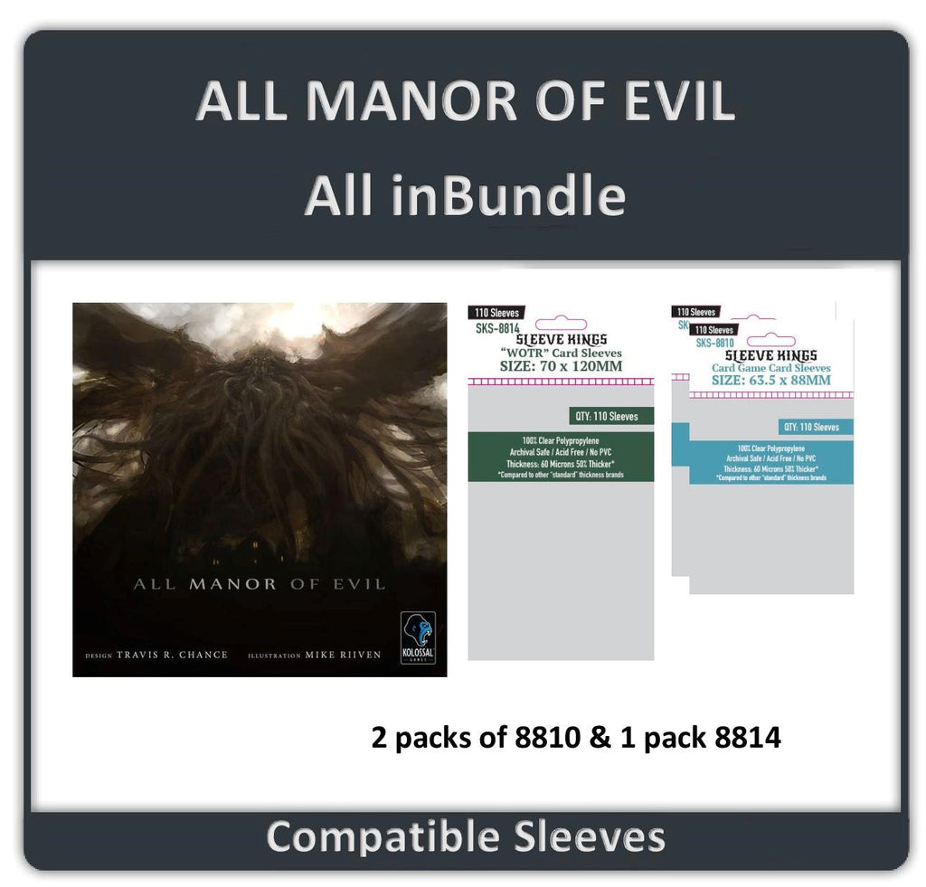 """All Manor of Evil All In"" Compatible Bundle (8810 X 2 + 8814 X 1)"