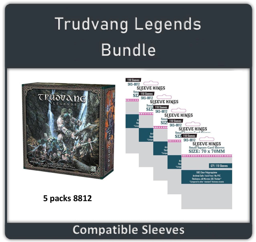 """Trudvang Legends"" Compatible Sleeve Bundle (8812 X 5)"