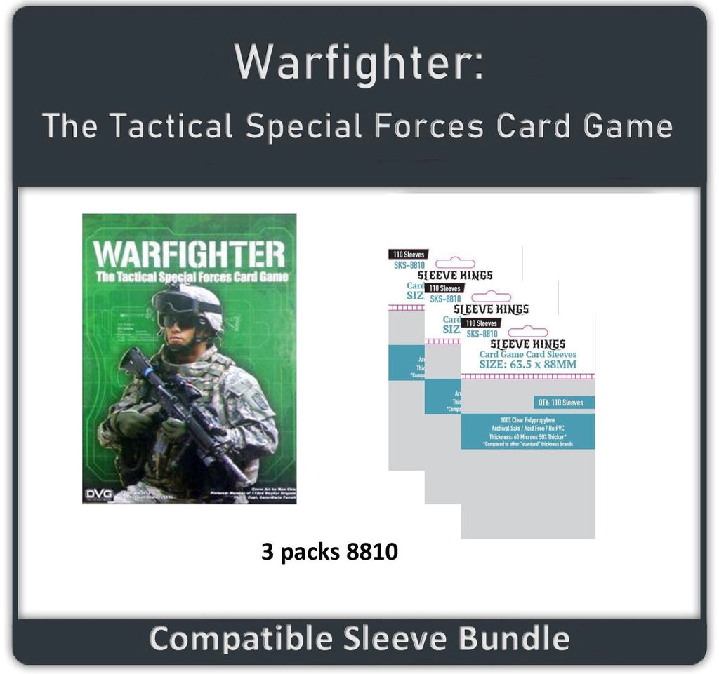 """Warfighter"" Compatible Sleeve Bundle (8810 X 3)"