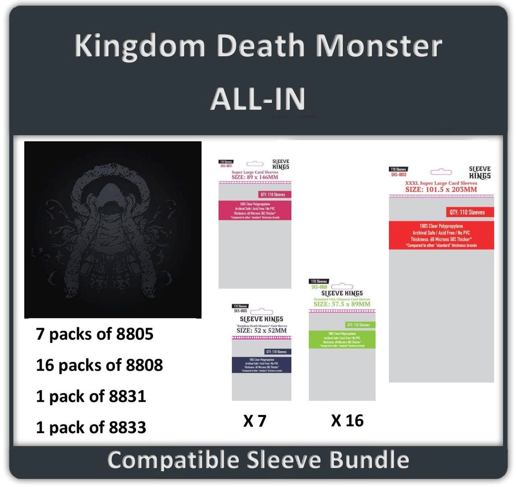 """Kingdom Death Monster All In Edition"" (8805 X 7 + 8808 X 16 +8831 X 1 + 8833 X 1)"