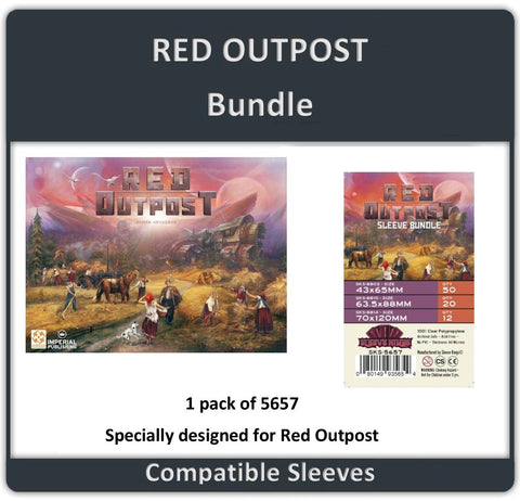 """Red Outpost"" Compatible Sleeve Bundle (8802 X 1 + 8810 X 1 + 8813 X 1)"