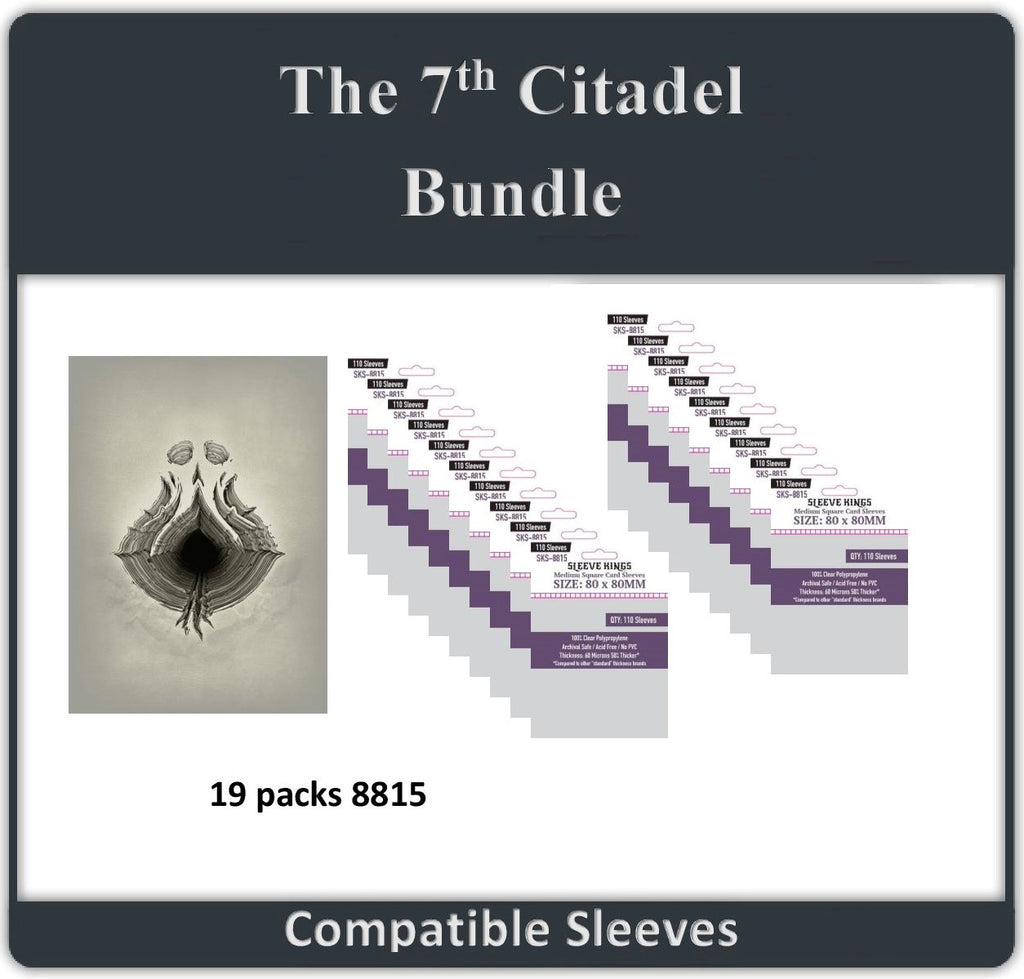 """The 7th Citadel All-in"" Compatible Sleeve Bundle (8815 X 19)"