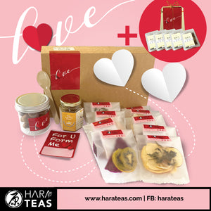 Harateas Valentine Fruit Tea Set + Tea | 祝你健康每一天