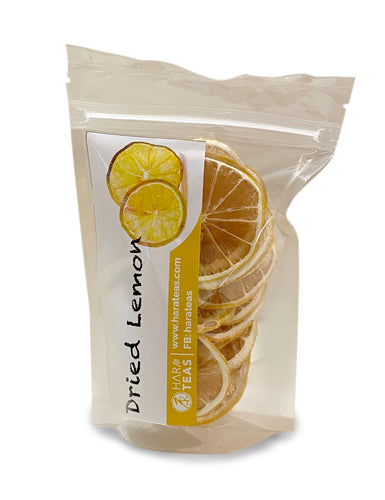 Dehydrated Lemon Slices 低温处理柠檬片