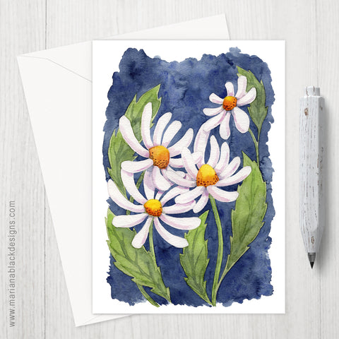 Darling Daisies eco-friendly greeting card