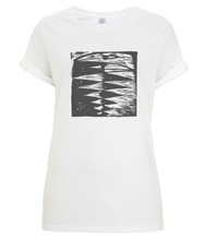 Load image into Gallery viewer, Raven Embrace Organic Rolled Sleeve T-Shirt