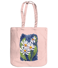 Load image into Gallery viewer, Darling Daisies Organic Spring Tote