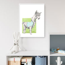 Load image into Gallery viewer, Alpaca Fine Art Print