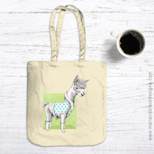 Load image into Gallery viewer, Alpaca Organic Spring Tote