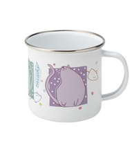 Load image into Gallery viewer, Blobby Cats 3 Enamel Mug