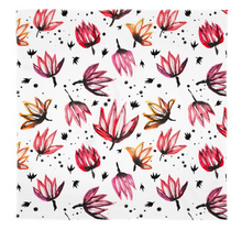 Load image into Gallery viewer, Dancing Lotus Flowers Scarf