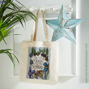 New Beginnings Organic Spring Tote