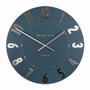 Mulberry Wall Clock - Midnight Blue - Cronulla Living
