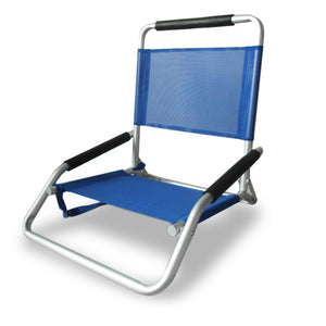 Ostrich Low Sand Beach Chair Blue - Cronulla Living