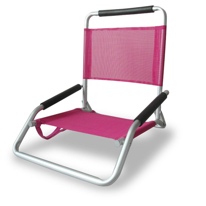 Ostrich Low Sand Beach Chair Pink - Cronulla Living