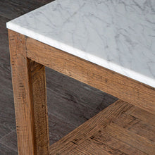 Load image into Gallery viewer, Denver Coffee Table - Marble and Oak Wood Frame
