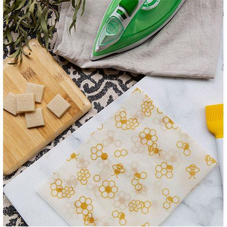 Karlstert Natural Beeswax Food Wrap - Starter Pack