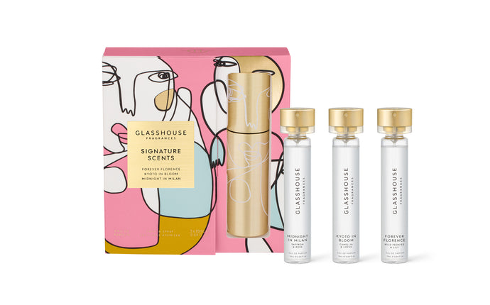Signature Scents Gift Set - Assorted Fragrances with Twist & Spray Atomiser - Cronulla Living
