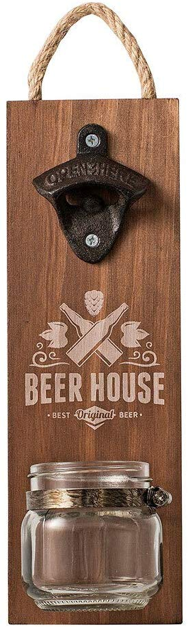 Avanti Beer House Bottle Opener with Jar Cap Catcher - Cronulla Living