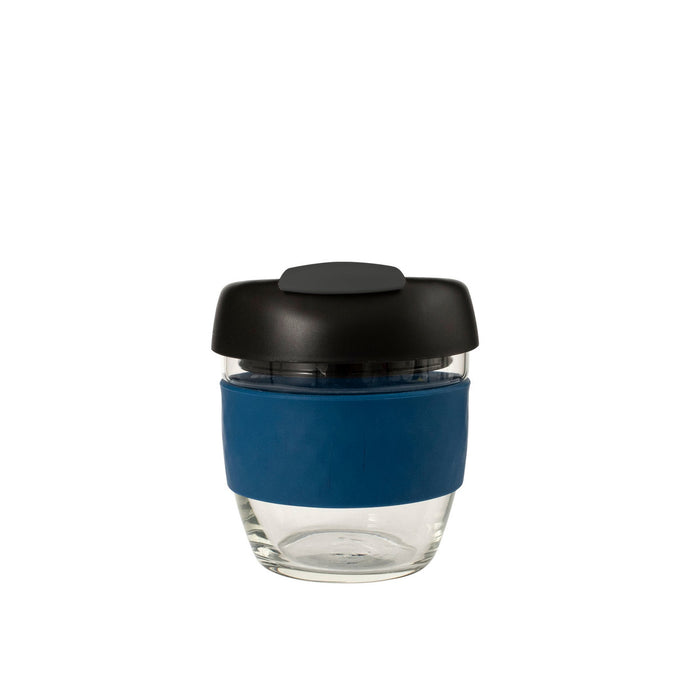 Avanti Glass Go Cup 236ml - Navy/Charcoal/Black - Cronulla Living