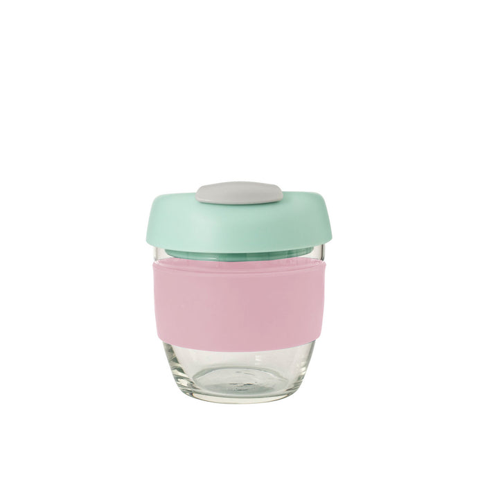 Avanti Go Cup Glass 236ml - Pink/Mint/Grey - Cronulla Living