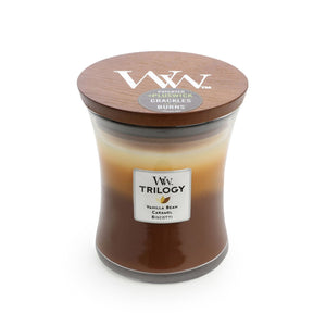 Woodwick Candle - Café Sweets Trilogy Medium - Cronulla Living